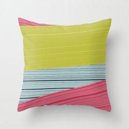 Bubblegum Pop Weave Throw Pillow