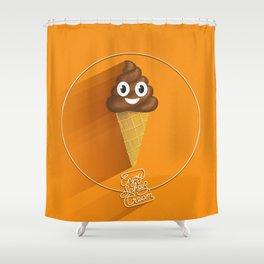 ScheißCream™  // icecream Shower Curtain