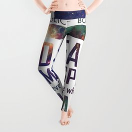 900 Years of Time and Space Leggings