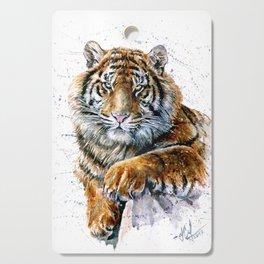 Tiger watercolor Cutting Board