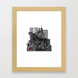 CHIROPTERA PIETA Framed Art Print
