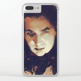 Bela Lugosi, Hollywood Legend Clear iPhone Case