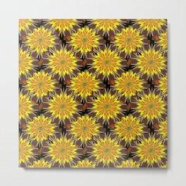 Dried Marigolds Metal Print