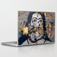 hindu Laptop & iPad Skins featuring Hindu mural by Rick Onorato