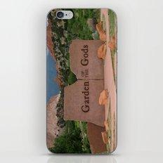 Garden of the Gods - Colorado iPhone & iPod Skin