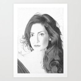 Rozana Art Print
