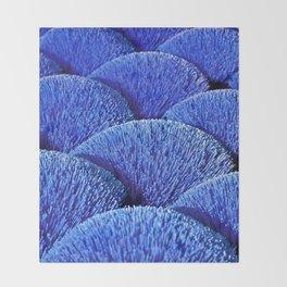 Blue Asian Impression Throw Blanket