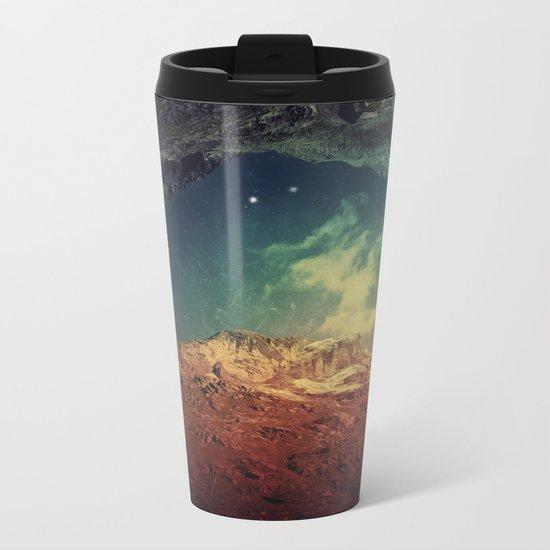 Dream Mountains Metal Travel Mug