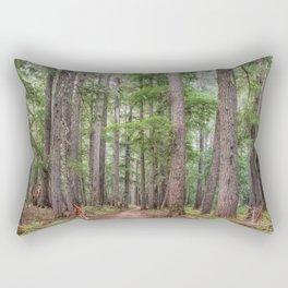 Forest Trail, Pacific Northwest, Washington State Rectangular Pillow