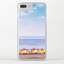 Pedal boats Clear iPhone Case