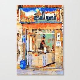 Shop in Aleppo Canvas Print