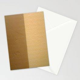 Imperfect Smooth VS Orange Peel Textures Minimalism Earth Tone Art - Corbin Henry Stationery Cards
