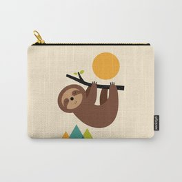 Keep Calm And Live Slow Carry-All Pouch