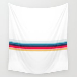 Simply Striped (white) Wall Tapestry