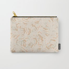 Modern African Zig-Zag Print Carry-All Pouch