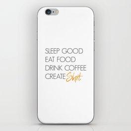 Create Shit iPhone Skin