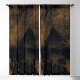 Mystical Abstraction 4d by Kathy Morton Stanion Blackout Curtain
