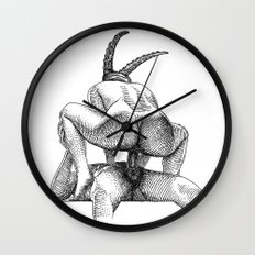 asc 623 - Le sacrifice du bouc (The performers I) First draft Wall Clock