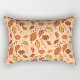 Leaves and pumpkins Rectangular Pillow