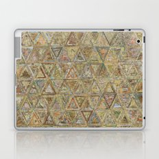 Brown Triangles Laptop & iPad Skin