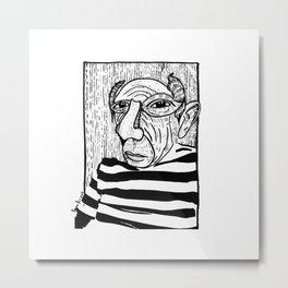Pablo Picasso Metal Print
