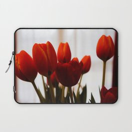 Red Tulips Laptop Sleeve