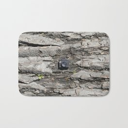 Tree trunk & Tiny Tiny Camera Bath Mat