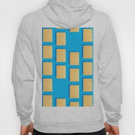 Abstract collage of sheets of colored paper Hoody