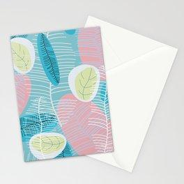 Retro Baby Blue Stationery Cards