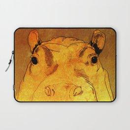 Golden Hippo Laptop Sleeve