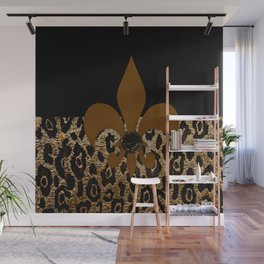F D L Exotic Animal Print Wall Mural