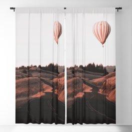 Air Balloon Road Blackout Curtain