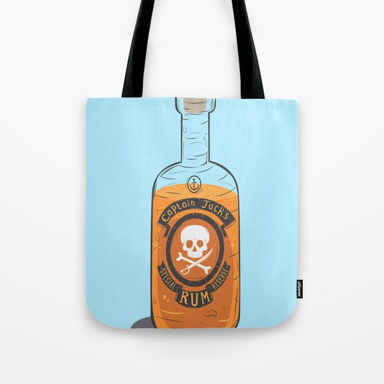 Captain Jack's Special Rum Reserve Tote Bag