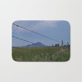 Bear Butte Barbed Wire Bath Mat