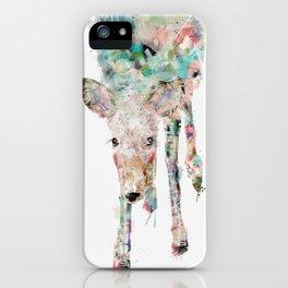 into the wild little deer iPhone Case