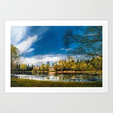 Lakeview Art Print