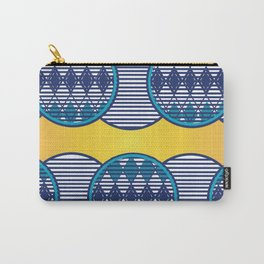 African Tribal Pattern No. 90 Carry-All Pouch