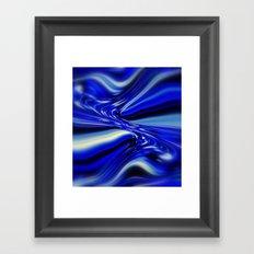 Code Blue Framed Art Print