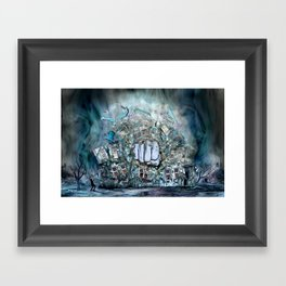 Violence Framed Art Print