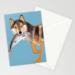 Vancouver Coastal Wolf Stationery Cards