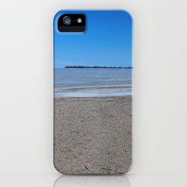 Maumee Bay in Winter II iPhone Case