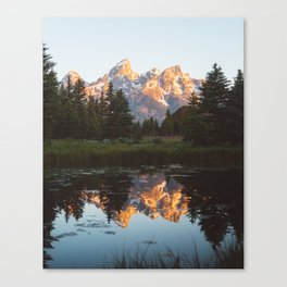 Summer in the Tetons 2 Canvas Print