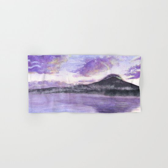 Mount Fuji Hand & Bath Towel