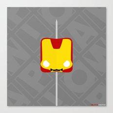 Marshmallow Iron Man Canvas Print
