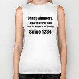 Shadowhunters: Looking Better in Black Biker Tank