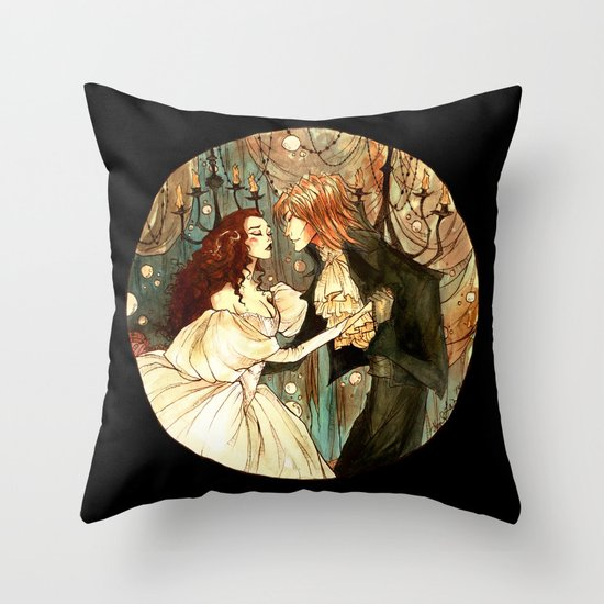 Throw Pillow Covers Society6 : Labyrinth Throw Pillow by Abigail Larson Society6