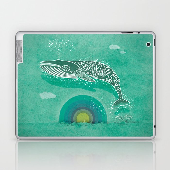 Whale Future Laptop & iPad Skin