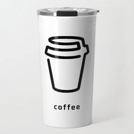 Coffee Cup Vector Travel Mug