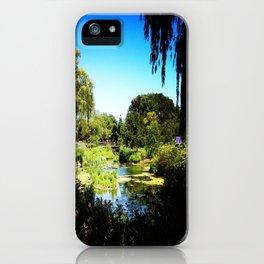 Monet's Garden in Chicago iPhone Case