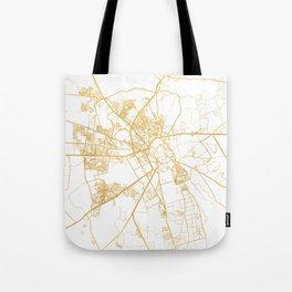 MARRAKESH MOROCCO CITY STREET MAP ART Tote Bag